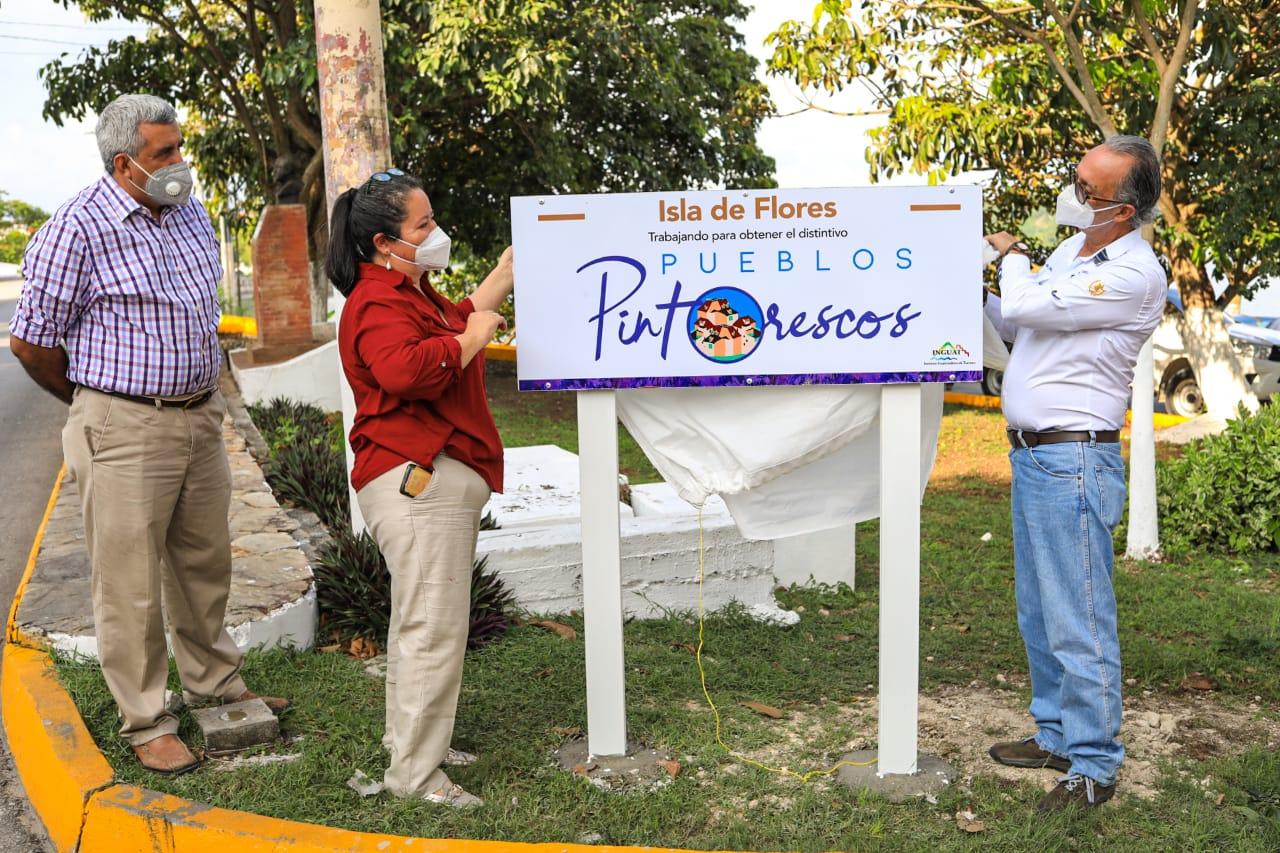 Isla de flores en Petén se llenará de colores