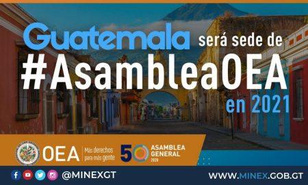 Guatemala, sede de la próxima Asamblea General de la OEA