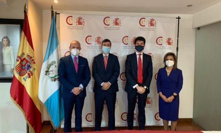Realizan primera misión comercial semipresencial entre Guatemala y España