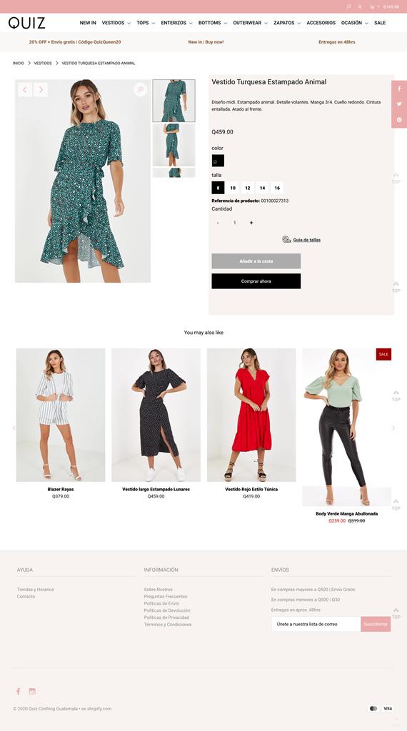 ropa de tendencia