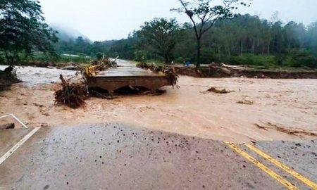 Corredores viales centroamericanos afectos por tormentas tropicales