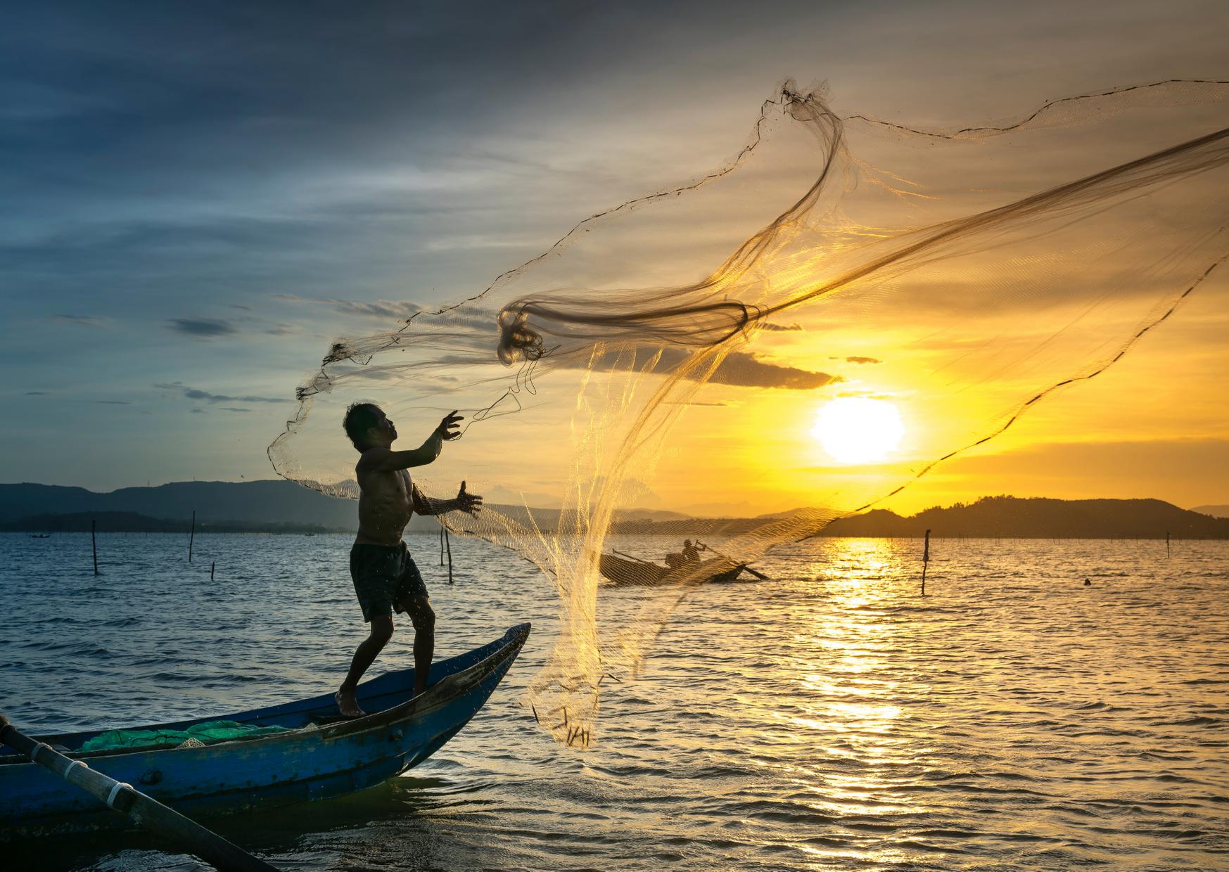 Sector pesquero en Guatemala
