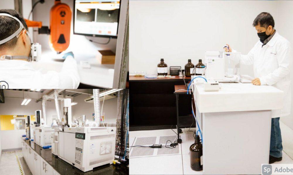 laboratorio de exportación Intertek