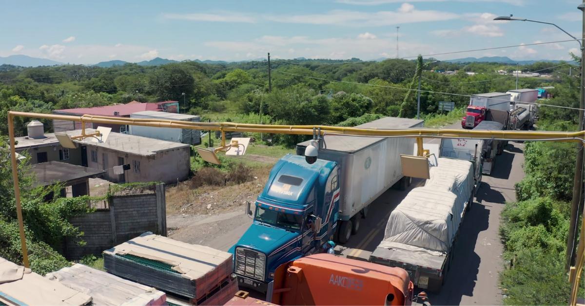 puestos fronterizos en Centroamérica