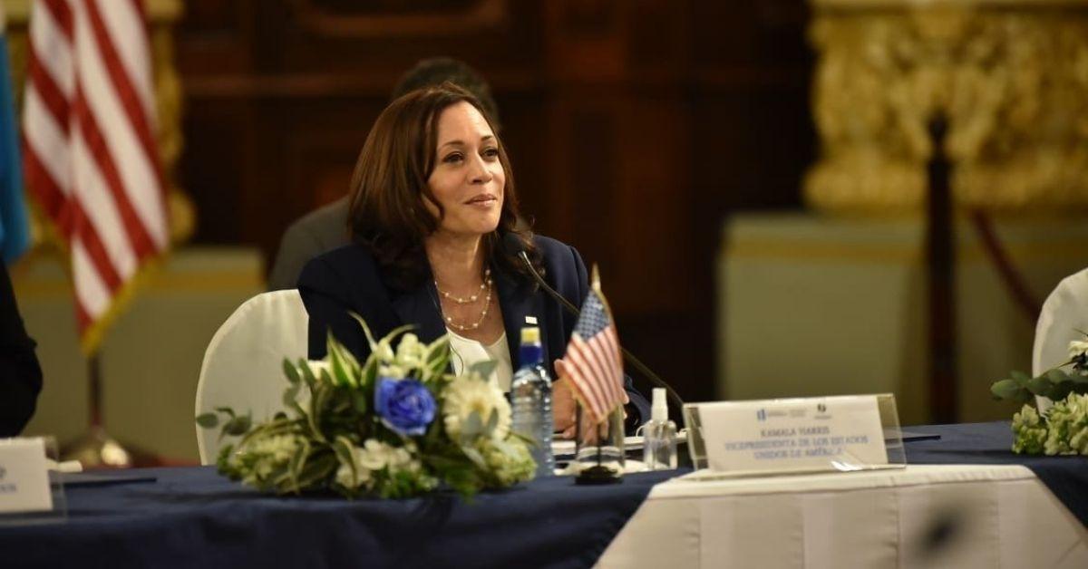 vicepresidente Kamala Harris en Guatemala
