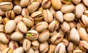 producción de pistachos