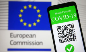 certificado digital de Covid-19