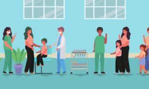 vacunación en niños
